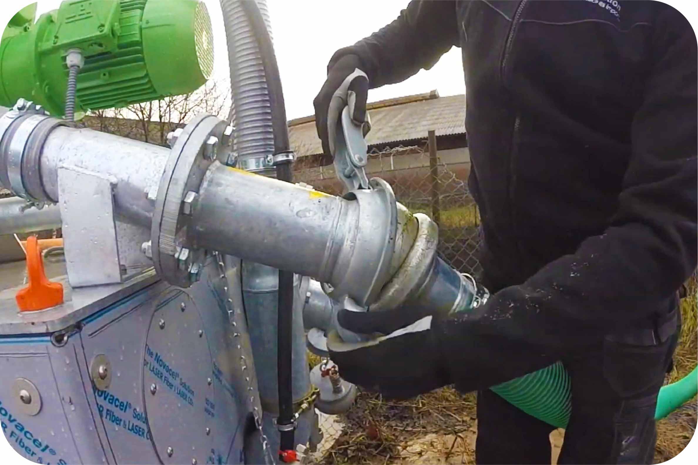 Bauer koppelingen worden voornamelijk toegepast voor beregening, mest transport en bronnering.